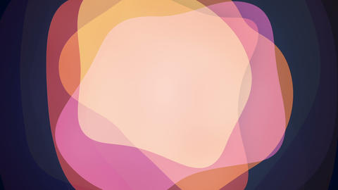 Background with pink shapes seamless loop animation Animation
