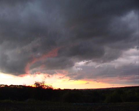 Dramatic sky ビデオ