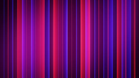Neon red and blue strips seamless loop abstract 3D animation Animation
