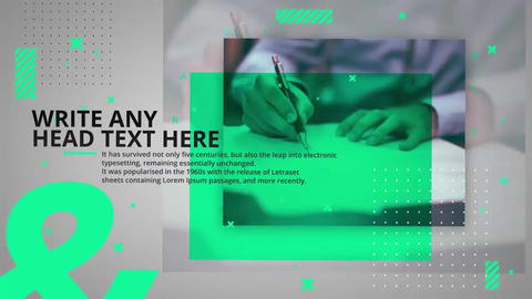 Business Slides After Effects Template