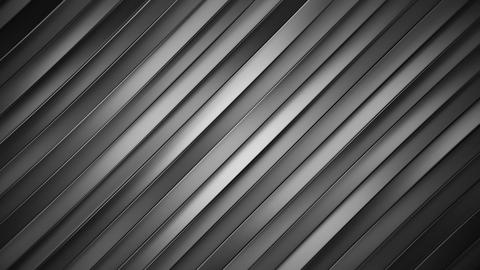 Diagonal grey lines seamless loop abstract 3D animation Animation