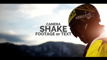 Shake The Camera Or Text