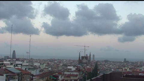 Views of the city of Barcelona Live Action