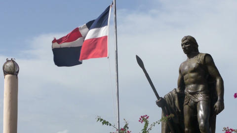 Statue of Enriquillo Live Action