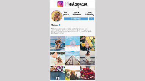 Instagram Stories Vertical Premiere Pro Template