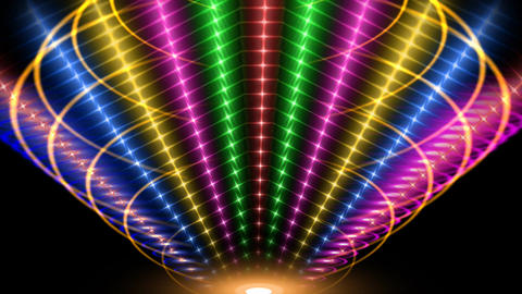 VISUAL LIGHT EFFECT Stock Video Footage