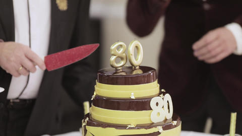 Birthday cake for 80 years Live Action
