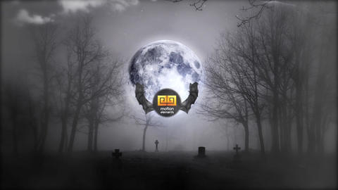 HALLOWEEN LOGO REVEAL After Effects Template