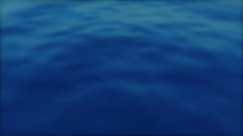 Blue Ocean Motion Background - 1 Animation