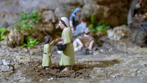 Largest animated nativity scene in South America Live Action