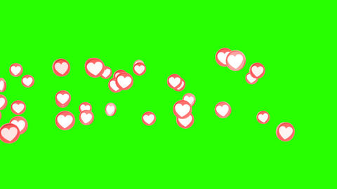 Social love heart icon animations Animation