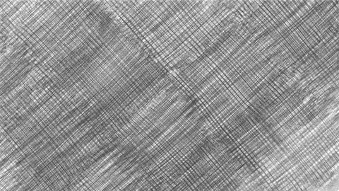 Design sketch in black and white pencil on white background Footage