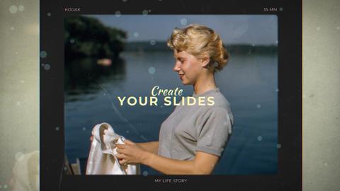 Memories Slides Premiere Proテンプレート
