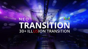 Neo Illusion Transition Pack After Effects Template