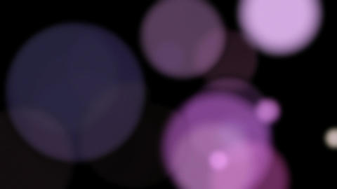 Animation of transparent balls on a black background HD 1920 Footage