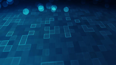 Abstract technology background 1 Animation