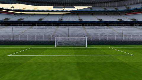 Football stadium Live Action