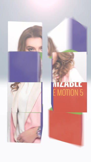 Out Of The Boxes_Vertical Apple Motion Template