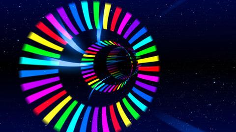 Tunnel animation, CG動画素材