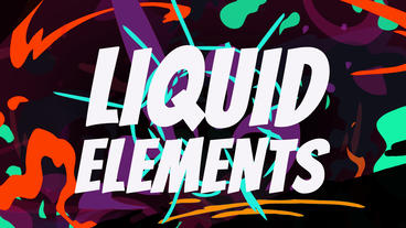 Liquid Elements After Effects Template