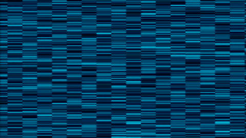 Abstract technology background with flicker, art with horizontal lines, 3d Live Action