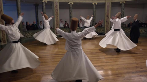 Whirling Dervish Youth Footage