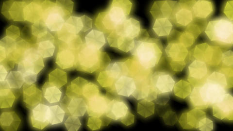 yellow illuminations particles Animation