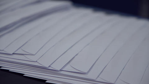 mail envelopes on factory GIF