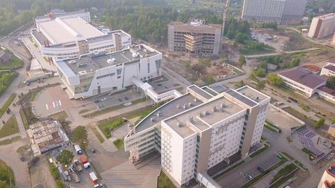 Russia, Krasnoyarsk. Siberian Federal University, MULTIFUNCTIONAL COMPLEX, From Footage