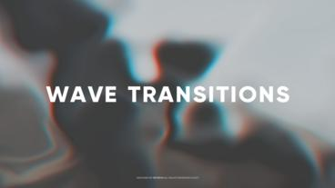 Wave Transitions After Effects Template