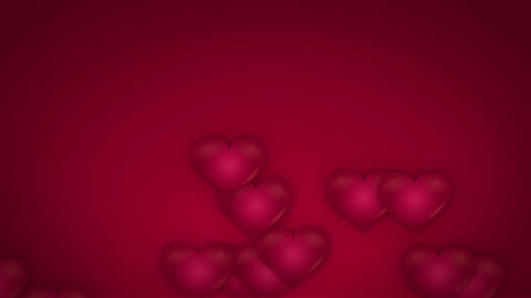 Valentine Love Background Stock Video Footage