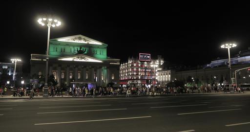 Bolshoi Theater and Tsum night Footage