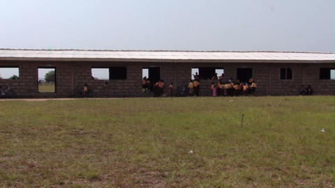 Schoolhouse in Africa Footage