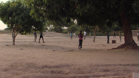 African kids playing Footage