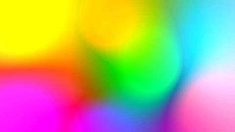 Rainbow Wiggle Highlights Stock Video Footage