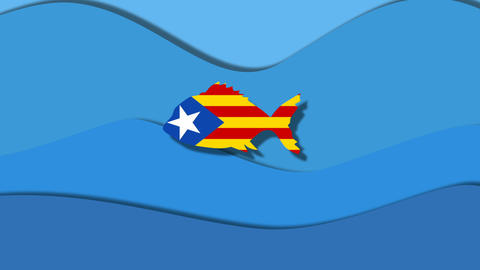 spain ate catalonia concept freedom Catalonia Stock Video Footage