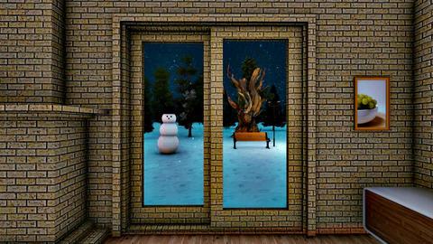 Winter room GIF