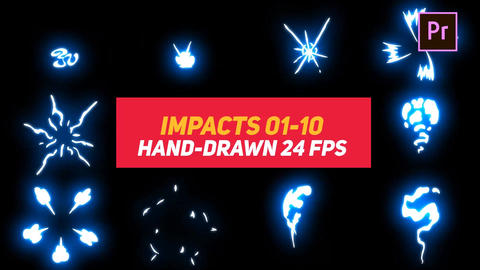 Liquid Elements Impacts 01-10 Motion Graphics Template
