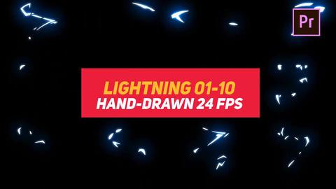 Liquid Elements Lightning 01-10 Motion Graphics Template