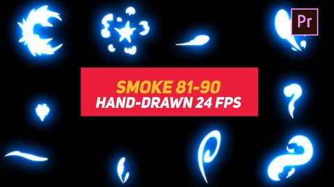 Liquid Elements Smoke 81-90 Motion Graphics Template