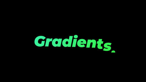 Gradients Premiere Pro Effect Preset