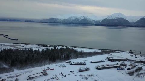 Alaska shipyard view Live Action