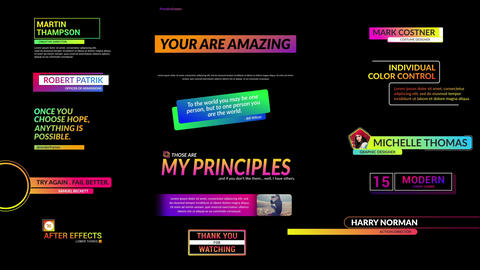 Creative TItles 2 0 After Effects Template