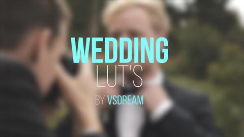 Wedding LUT's Premiere Pro Template