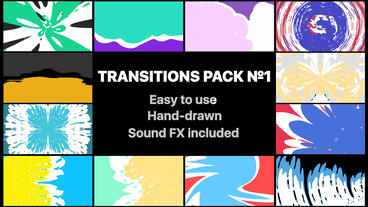 Liquid Transitions Pack 01 After Effects Template