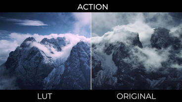 Action LUTs Presets Premiere Proテンプレート
