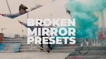 Broken Mirror Presets Premiere Pro Template
