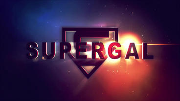 SuperGal Title/Logo Reveal After Effects Template