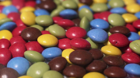 Rotating Colored Candy Stock Video Footage