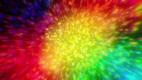 Colorful blurred lights Stock Video Footage